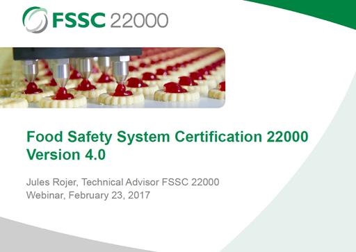 FSSC 22000 V4 (식품안전 경영시스템 Version 4 소식) | BSI Blog